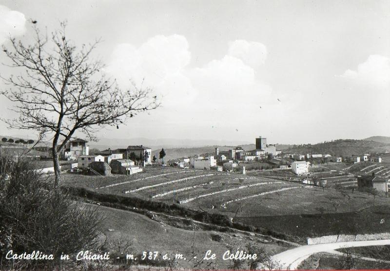 CASTELLINA IN CHIANTI-LE COLLINE-anni 70