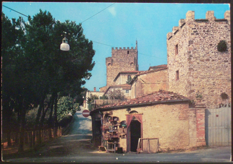 Via delle Mura, anni 70 circa. Edizioni Falassi.