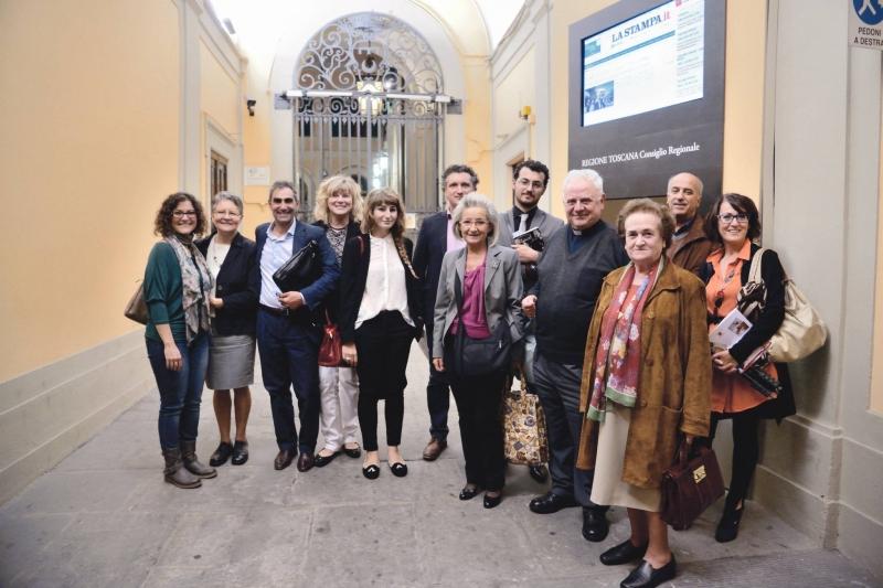Presentazione in Regione Toscana