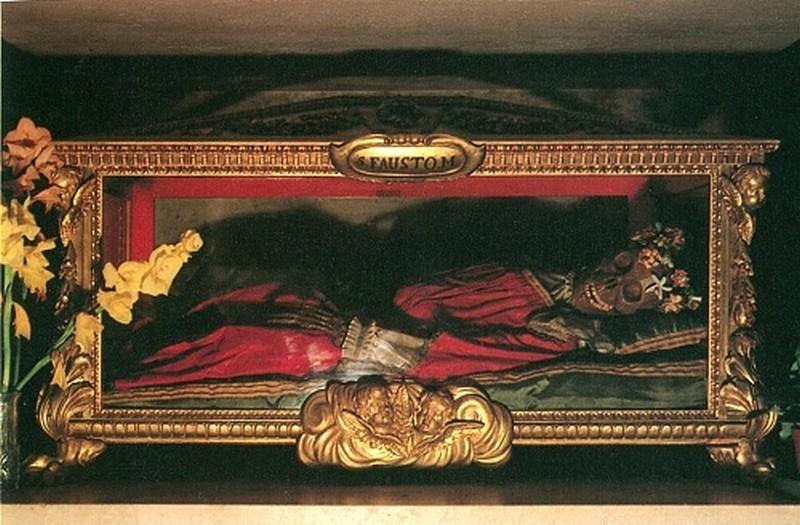 Reliquiario di San Fausto (1661)