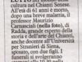 La Nazione Siena, 31 dicembre 2014