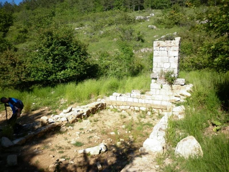 Ruderi dell'antico ospedale medievale di S. jacopo