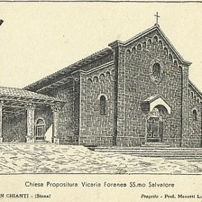 Settant'anni dalla distruzione della Chiesa del SS. Salvatore e della Porta Fiorentina di Castellina in Chianti